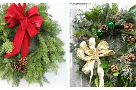 GLUED: Holiday Wreaths 11/28