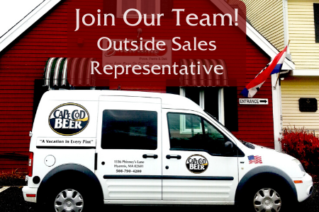 JOB OPENING: Outside Brewery Sales Associate