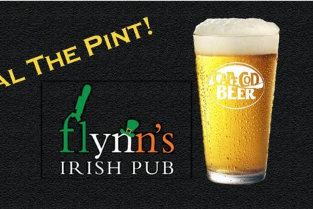 OUTSIDE EVENT: Flynn's Irish Pub Steal the Pint
